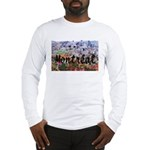 Montreal City Signature cente Long Sleeve T-Shirt