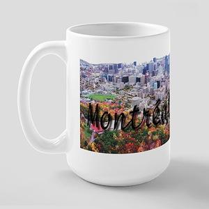 Montreal City Signature cente Large Mug