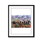 Montreal City Signature cente Framed Panel Print