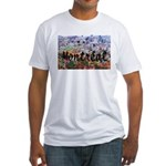 Montreal City Signature cente Fitted T-Shirt