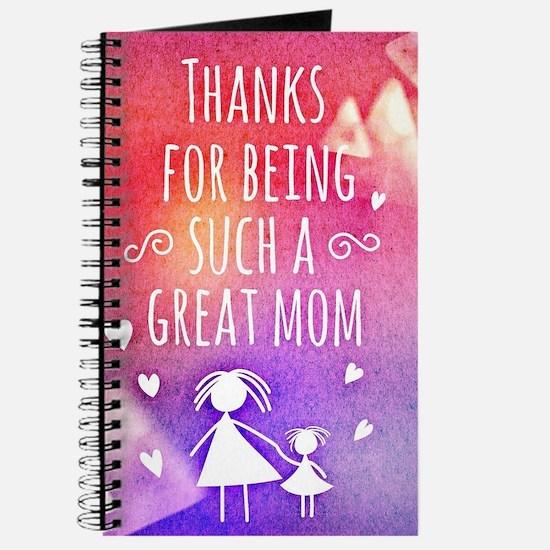 thanks mom Journal