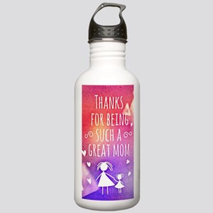 thanks mom Stainless Water Bottle 1.0L