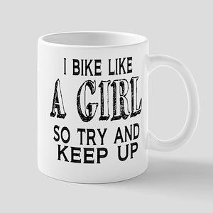 Bike Like a Girl Mug