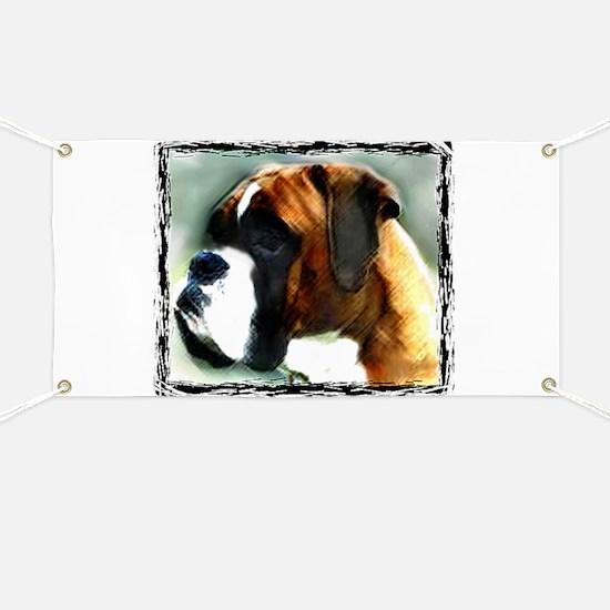 Boxer Dog Banner