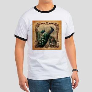 romantic paris vintage peacock T-Shirt