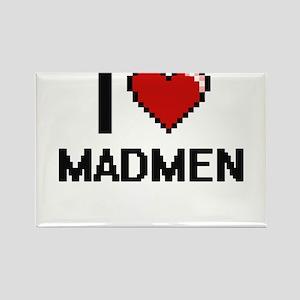 I Love Madmen Magnets