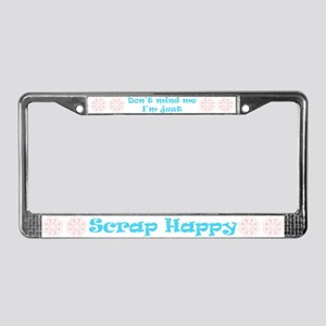 Don't Mind Me... License Plate Frame