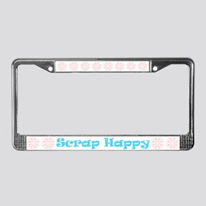Scrap Happy License Plate Frame
