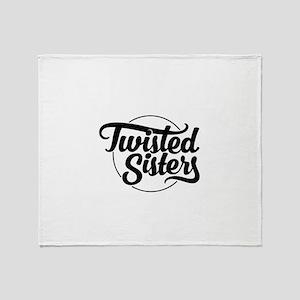 TS Original Black Throw Blanket