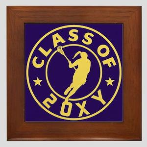 Class of 20?? Girl Lacrosse Framed Tile