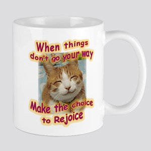 choice to rejoice Mugs