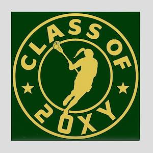 Class of 20?? Girl Lacrosse Tile Coaster