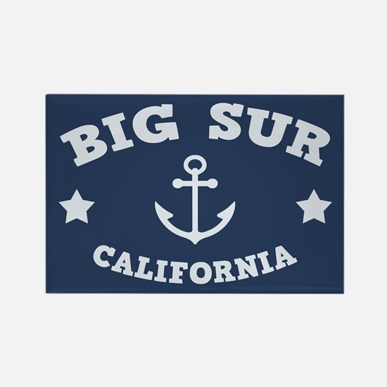 Big Sur Anchor Rectangle Magnet