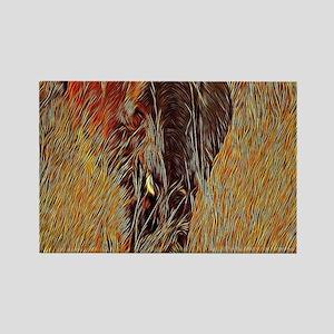 wildlife art african elephant Magnets