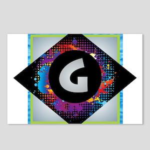 G - Letter G Monogram - B Postcards (Package of 8)