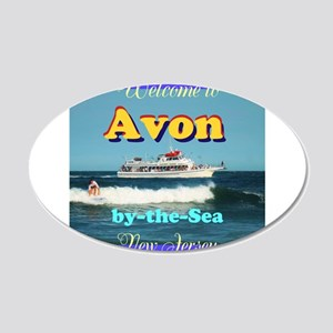 Avon-by-the-Sea Wall Decal