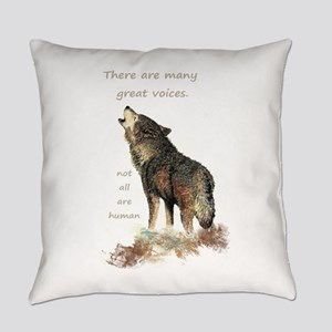 Many Great Voices Inspirational Everyday Pillow