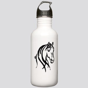 Black Horse Stainless Water Bottle 1.0L