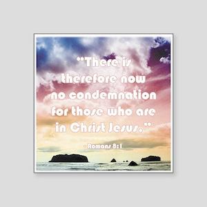 Bible Verse No Condemnation Sticker