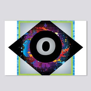 O - Letter O Monogram - B Postcards (Package of 8)