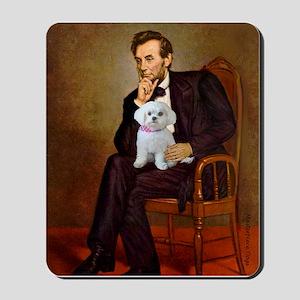 Lincoln's Maltese Mousepad
