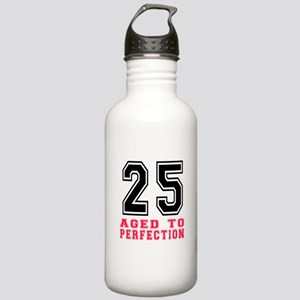 25 Aged To Perfection Stainless Water Bottle 1.0L