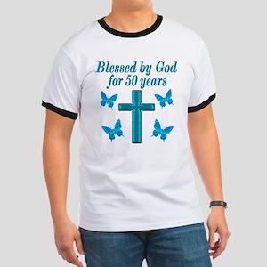 50TH LOVING GOD Ringer T