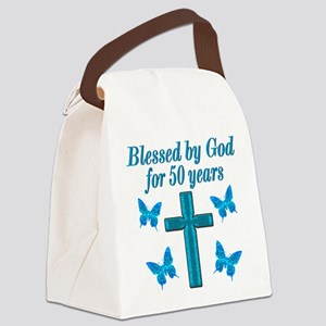 50TH LOVING GOD Canvas Lunch Bag