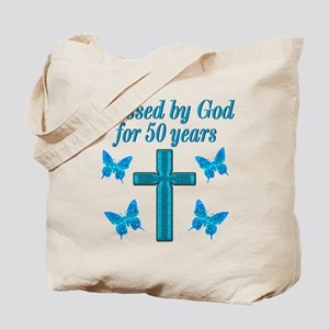 50TH LOVING GOD Tote Bag