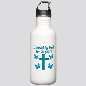 50TH LOVING GOD Stainless Water Bottle 1.0L
