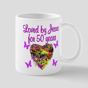 50TH LOVING GOD Mug