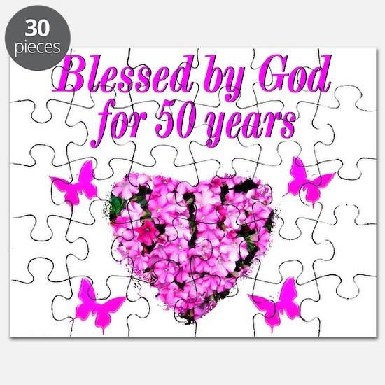 50TH LOVING GOD Puzzle