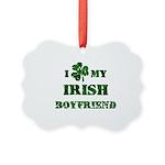 Irish Boyfriend Picture Ornament