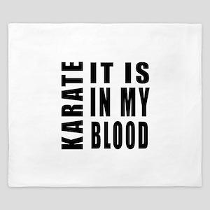 Karate it is in my blood King Duvet