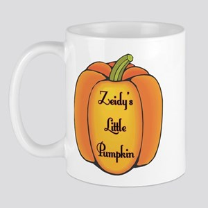 Zeidy's Little Pumpkin Mug