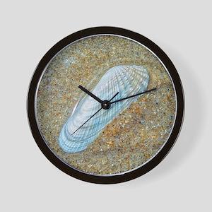 Angelwing Seashell Wall Clock