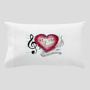 Love Music Pillow Case
