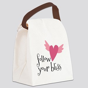 follow your bliss Canvas Lunch Bag