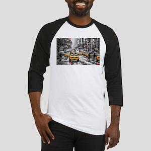 I LOVE NYC - New York Taxi Baseball Jersey