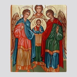 The Archangels  Throw Blanket