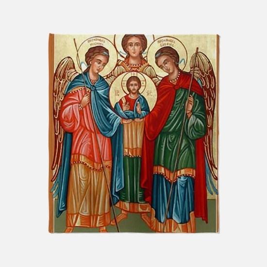 The Archangels  Throw Blanket