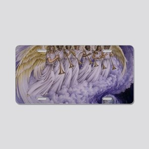 7 Archangels Aluminum License Plate