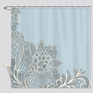 Robins Egg Shower Curtains