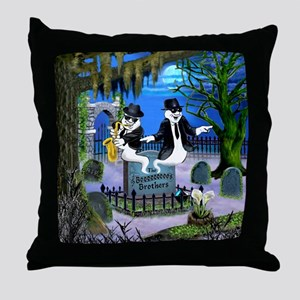 The Boos Brothers Throw Pillow