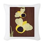 Bee Woven Throw Pillow