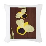 Bee Woven Throw Pillow