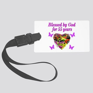CHRISTIAN 55TH Large Luggage Tag