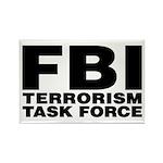 FBI Terrorism Task Force Rectangle Magnet