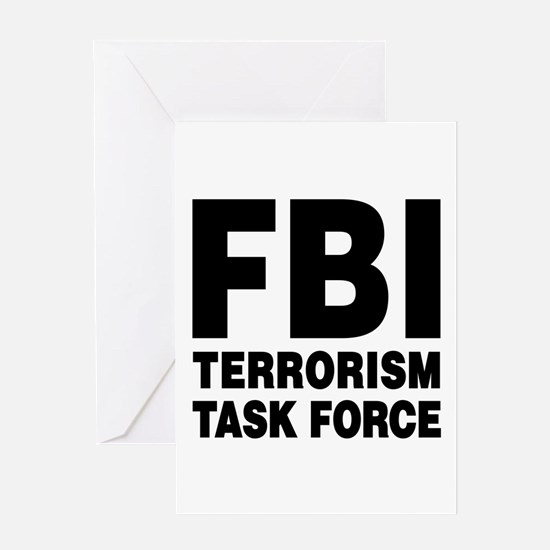 FBI Terrorism Task Force Greeting Card