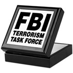 FBI Terrorism Task Force Keepsake Box